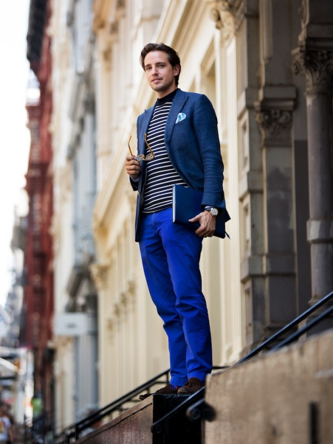 blue-suit-striped-sweater