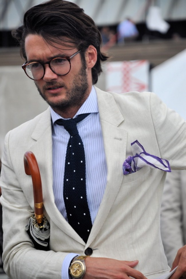 watch-umbrella-knitted-dotted-dot-tie-pocket-square-glasses