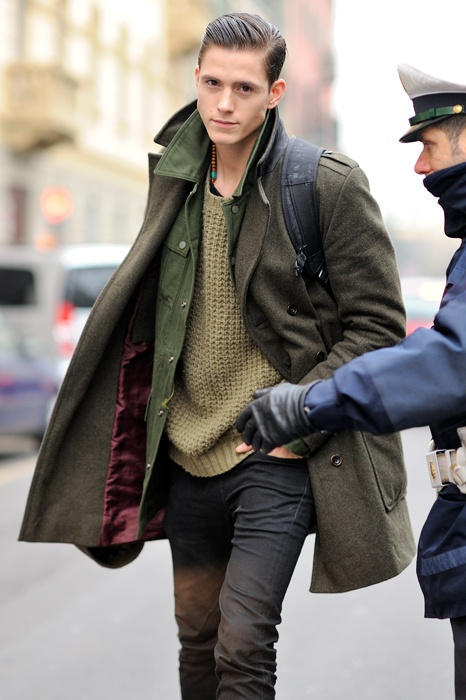 Monsieur Jerome; streetstyle; Milan Fashion Week; zegna