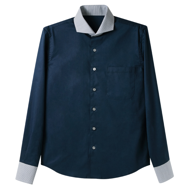 イタリアンカラーシャツ-2